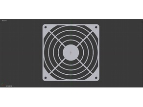 140mm Fan Grill, Basic Wire Style