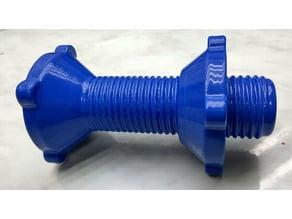 Universal spool holder on 8-10 mm shaft