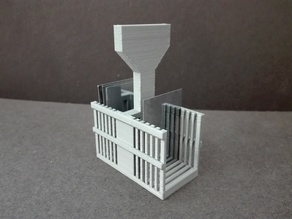 Holder for glass 40x25mm glass slides