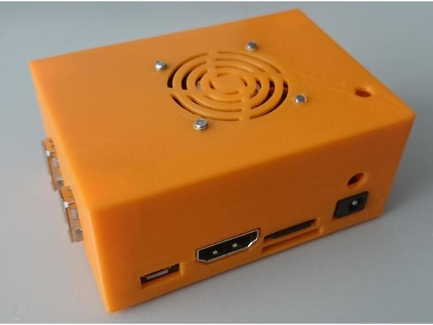 Case for Orange Pi Lite with 30mm Fan by tom666 - Thingiverse