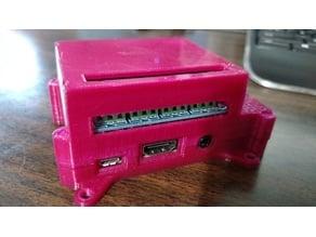 CRO - Raspberry Pi 3, Pi 2 B - 4 relay HAT case w/VESA mnt