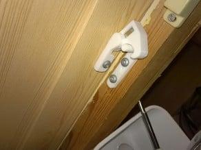 Toddlersafe secret cupboard maglock.