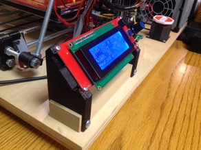 Mounting brackets for a 2004 LCD Display Smart Controller