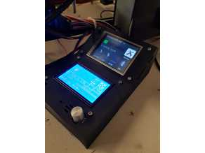 "3.2"" MKS Touch Screen + 12864 LCD Control Box"