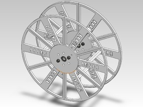 Modular Printable Spool