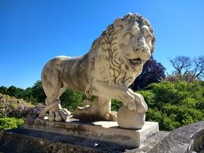 Lion statue, Compiègne