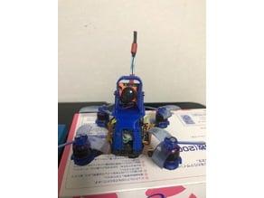 lizard 95 runcam micro vtx03 support