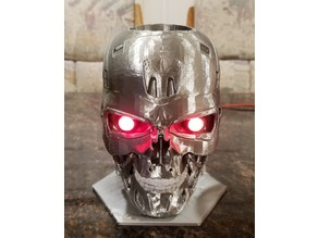 T-800 Exoskull Pencil Holder