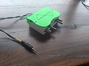 Oscilloscope for sound card