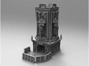 Warhammer Fortress of Sacrifice Dice Tower
