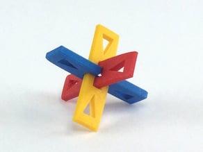 3 piece puzzle toy