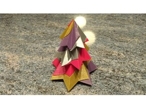 Candy Cane Christmas Tree - 4 Colours - Single Extruder