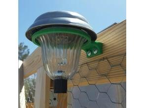 Solar light mount