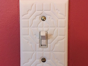 ShapeJS Lightswitch Cover