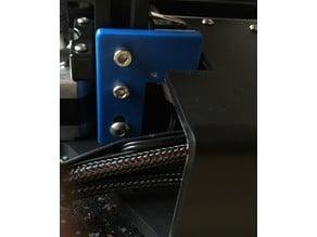 Ender-2 z-axis endstop extension (adjustable)