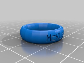McKLeeT ring