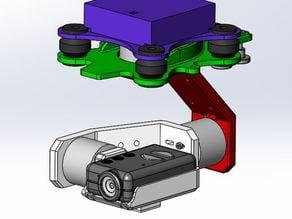 3DP Mobius Gimbal Platform V2