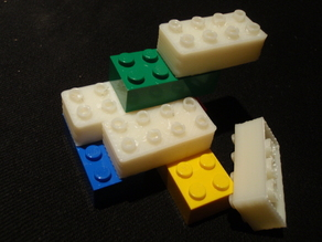 Parametrized Lego Bricks