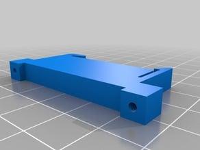 45mm PCB DIN rail mounting clip