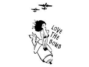 Bomber stencil