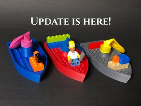 Balloon Boat V3 UPDATE! - Compatible with Mini Figures