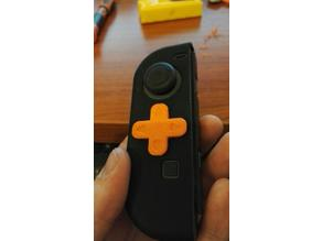 Nintendo Switch jJoyCon D-pad Mod for silicon grip