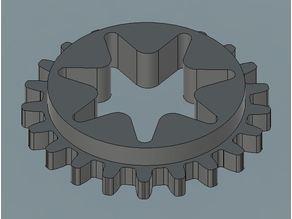 Sthil 028 chainsaw oil pump drive gear