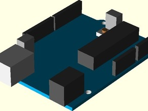 Arduino OpenSCAD Model Library