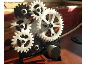Geared Desk Clock