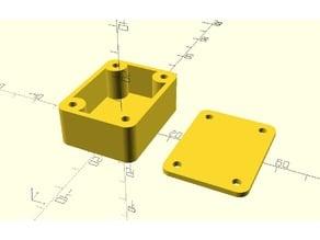 Customizable Case with Machine screws