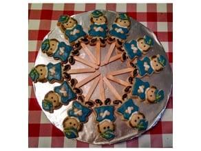 Girl Graduate Cookie cutter