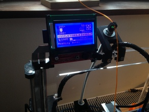 LCD 12864 Top Mount Prusa I3