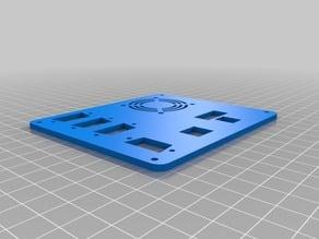 MPCNC Control Box - DSUB9 Plate