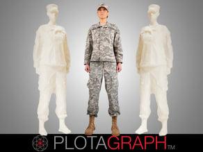 Plotagraph: Soldier Girl