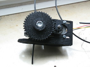Wade's Geared Nema 17 Extruder for Bfb Hotend