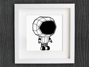 Customizable Little Astronaut