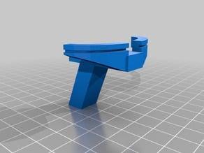 Desktop crossbow (shoots staples)