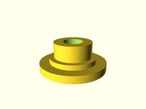Parametric bearing spacer