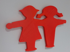 Ampelmann Ampelgirl and Unisex Bathroom Signs