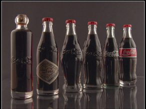 Original Coke Bottle Set
