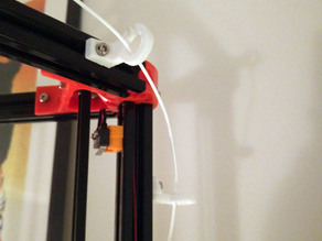 Filament guide for Delta 20mm extrusion