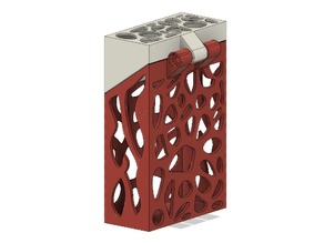 Voronoi Cigarette Case with Hinge