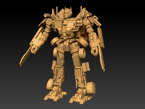 Optimus Prime 2009 Leader class mould (rebuild by my own)