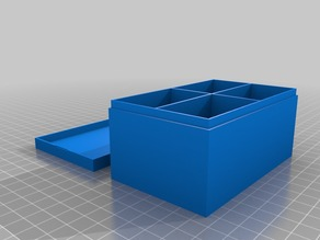 Box with Cover and Division - Parametrisable