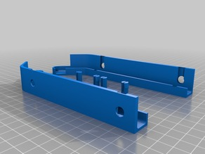 AAA pegboard Battery Holder extended