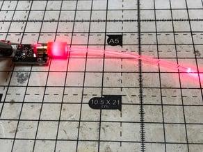 KY-008 to 2mm fibre coupler