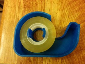 Tape Dispenser - one piece for double sided roll