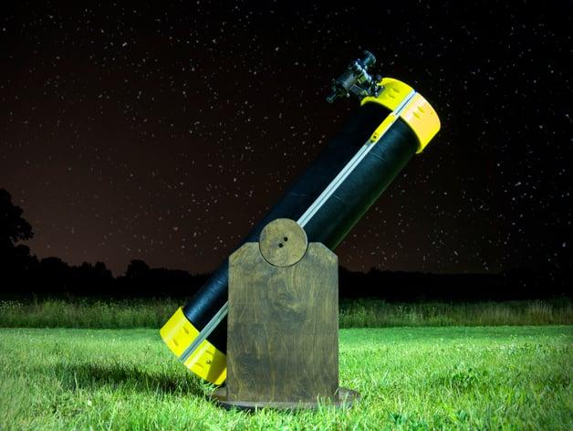 Printed Dobsonian Telescope