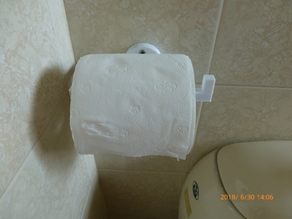 Toilet paper holder(Easy to print!)
