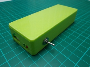 DIY Power Bank 2x 18650 Cell